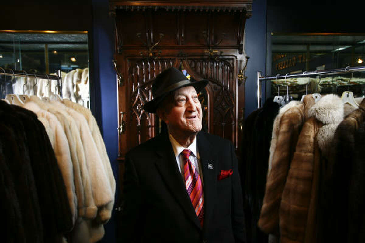 Sam Spritzer and his wife, Pantipa, have been selling furs to well-to-do Houstonians for decades. These days, the couple operates within Houston Jewelry.