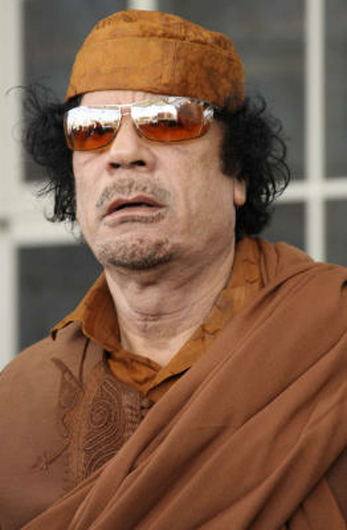 As head of the African Union, Libyan leader Moammar Gadhafi will have the power to guide policy across Africa.