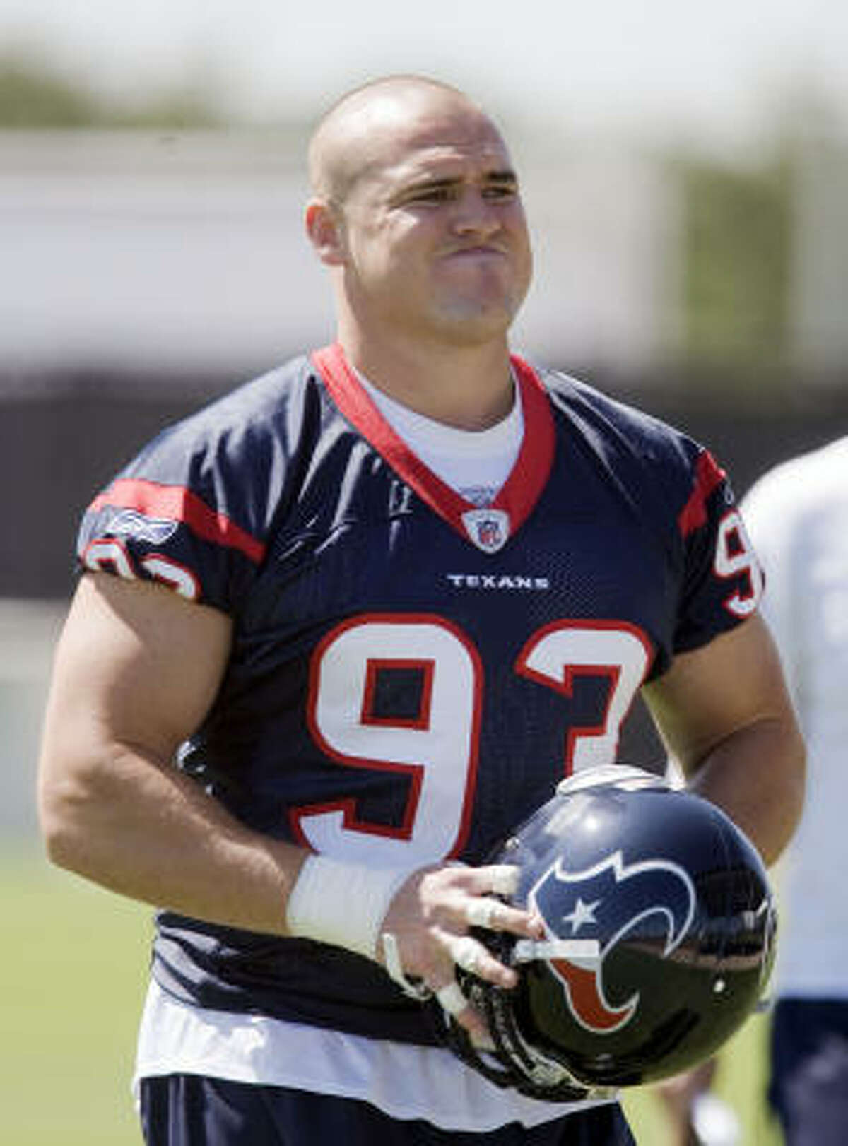 Once an undrafted free agent out of Boston College, defensive end Tim Bulman is now among the most respected players in the Texans' locker room and a reserve the coaches plan to lean on this season.
