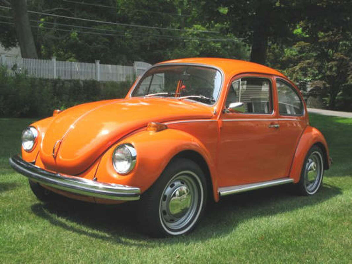 The original owner of this 1972 Volkswagen Beetle — purchased used in 1973 — located it 25 years after selling it, and gave it a complete restoration.