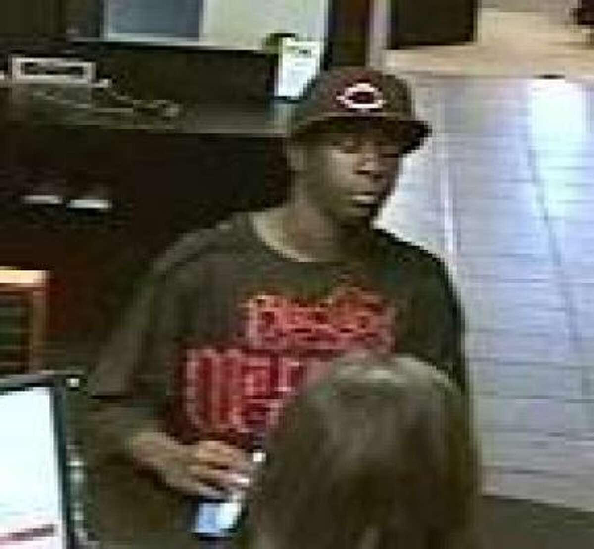 This man robbed the Chase Bank branch at 1490 Eldridge Parkway about 2:40 p.m. Friday.