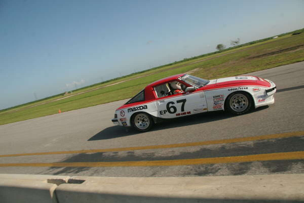 Tom Thrash had five wins this year in the E Production class of Sports Car Club of America series.