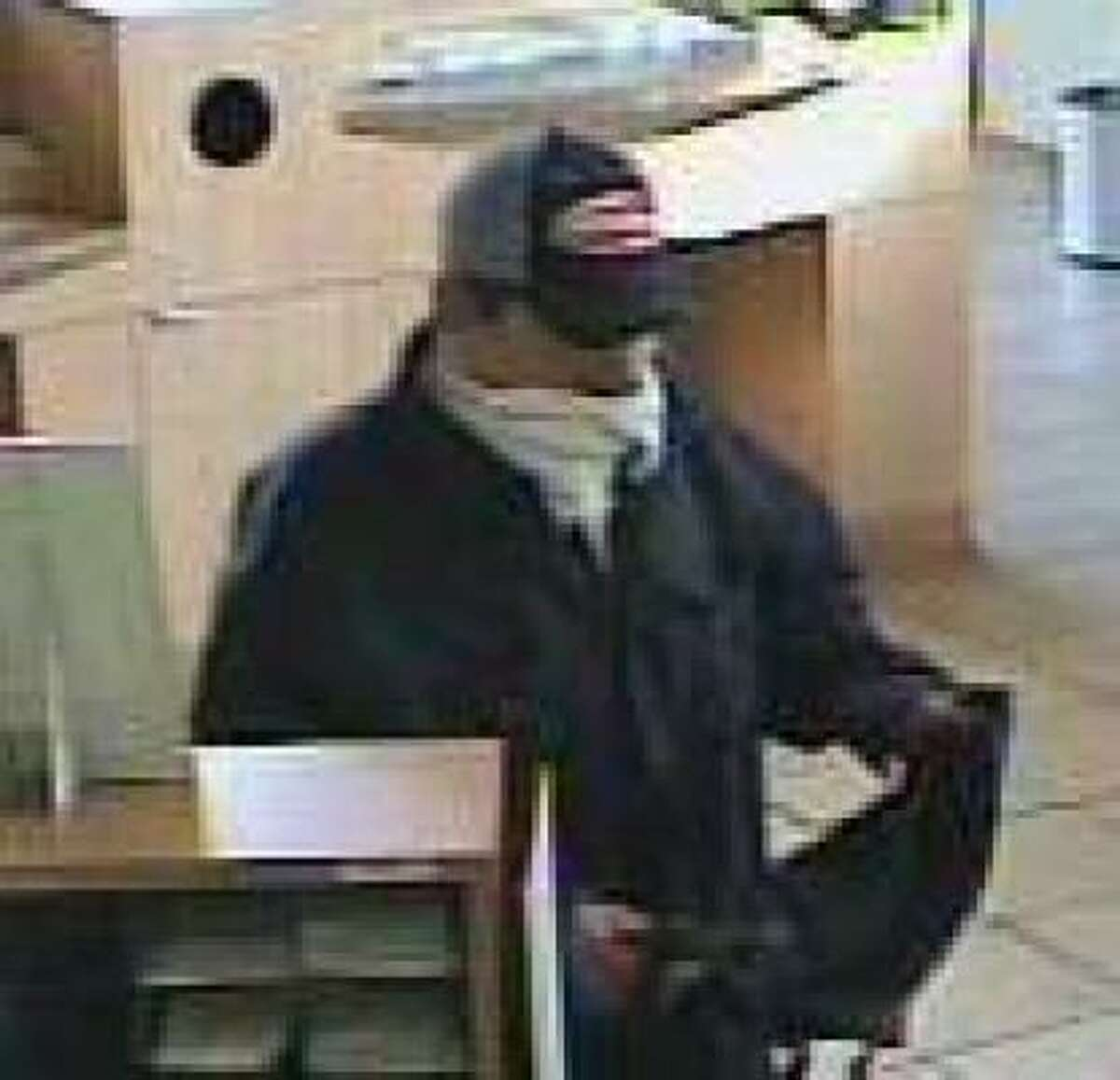 This man robbed a Capital One branch in Rosenberg on Thursday.
