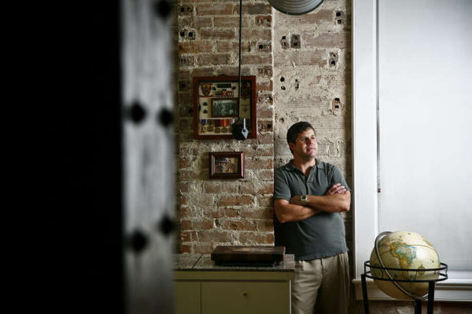 Gene Harper, who served two tours of duty in Iraq, entered the University of Houston as a pre-med student in 2009 under the GI Bill.