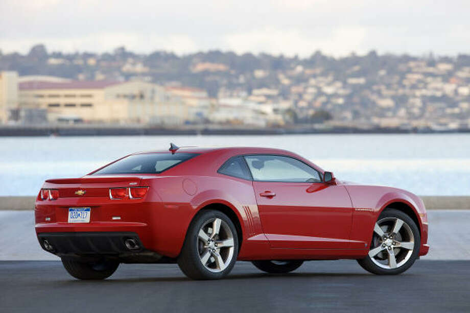 Charles Stoneham Jr.'s 2010 Camaro might have looked like this one when new. Photo: Wieck