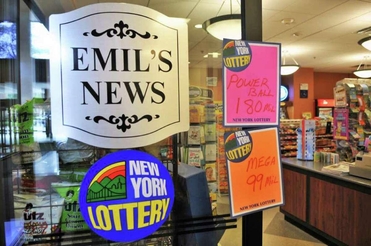 Emil's News inside 99 Washington Ave. Thursday Aug. 4, 2011. (John Carl D'Annibale / Times Union)