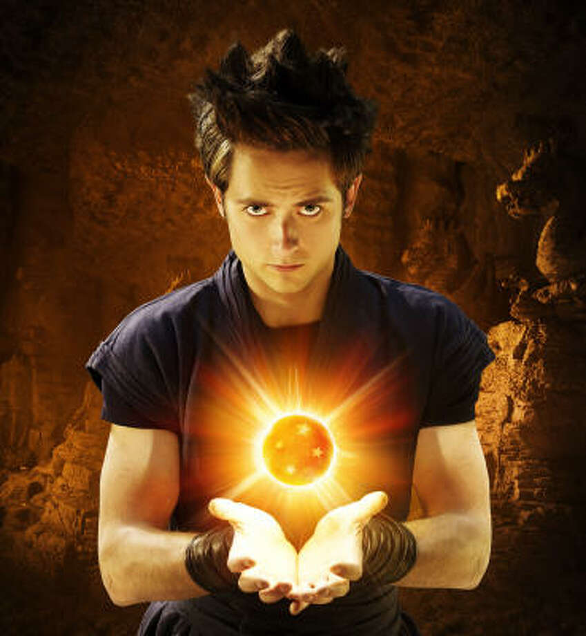 Justin Chatwin stars in Dragonball Evolution, a live-action adaptation of the popular Japanese manga created by Akira Toriyama. Photo: Martin Gavica