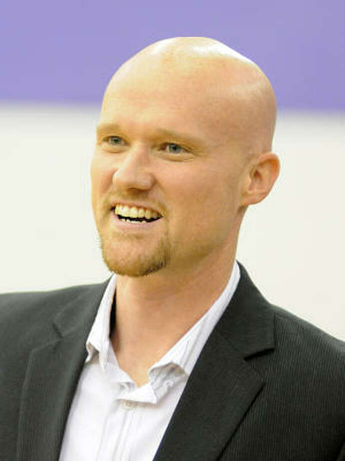 Matthew Tillman, who started working at Spring High in 1999, is on administrative leave. Photo: David Hopper, Chronicle