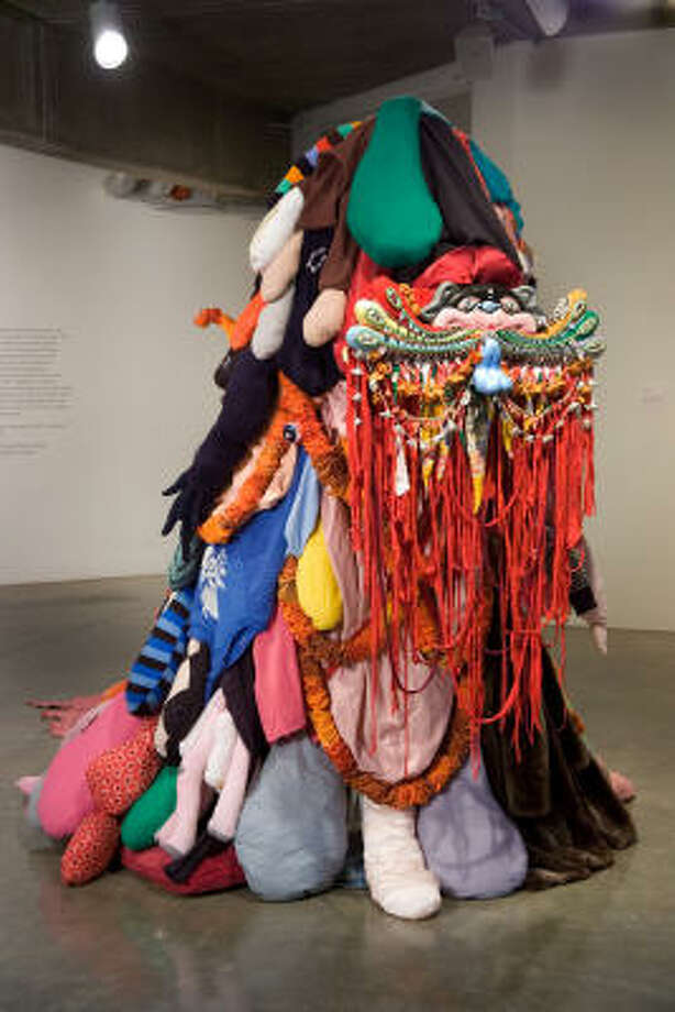 Third World Textile Spirit, 2009, at Contemporary Arts Museum Houston. Photo: COURTESY THE ARTIST AND McCLAIN GALLERY, HOUSTON