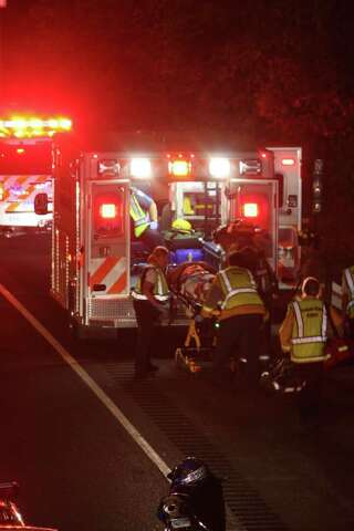 One man sent to hospital in I-95 crash - Darien Times