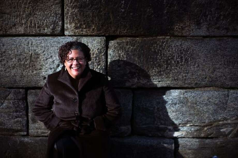 Elizabeth Alexander is only the fourth poet to read at a presidential inauguration. Photo: DAMON WINTER, The New York Times