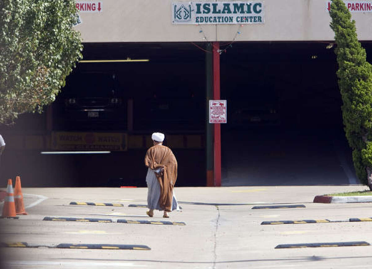 The mood among the Muslim faithful at the Islamic Education Center went from fear and confusion on Thursday to exasperation and resignation on Friday.
