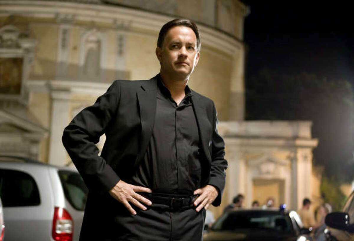 Tom Hanks stars in the suspense thriller Angels & Demons.