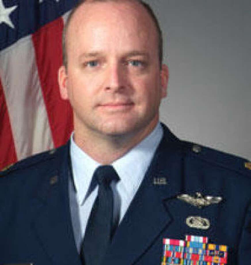 Lt. Col. Mark Stratton got his undergraduate degree at Texas A&M in 1991.