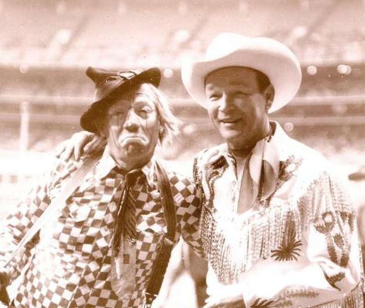 How far do the Astrodome and rodeo go back? Roy Rogers made an appearance there for the 1969 event.