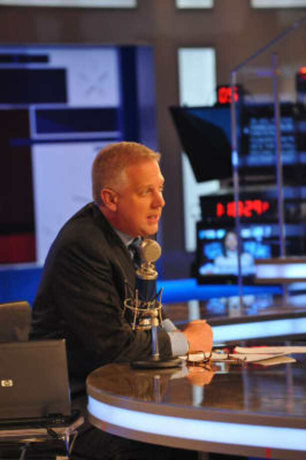 Glenn Beck, who once filled Houston's airwaves during his morning-drive show on KRBE, now joins Fox News to host a new show that will air at 4 p.m. weekdays. Photo: Ted Axelrod, FOX NEWS