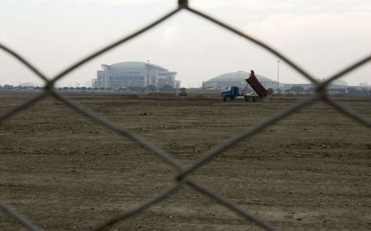 AstroWorld ceased to be in 2005. The land awaits redevelopment.