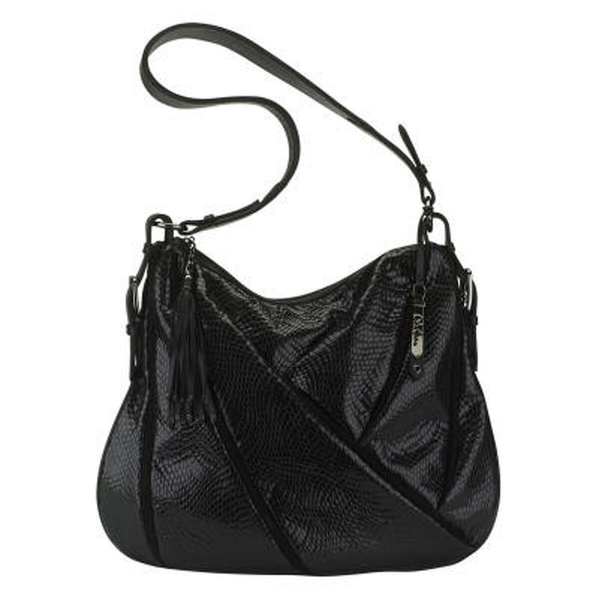 The Maria N/S Hobo is just one of the handbag selections available under the Maria Sharapova Collection.