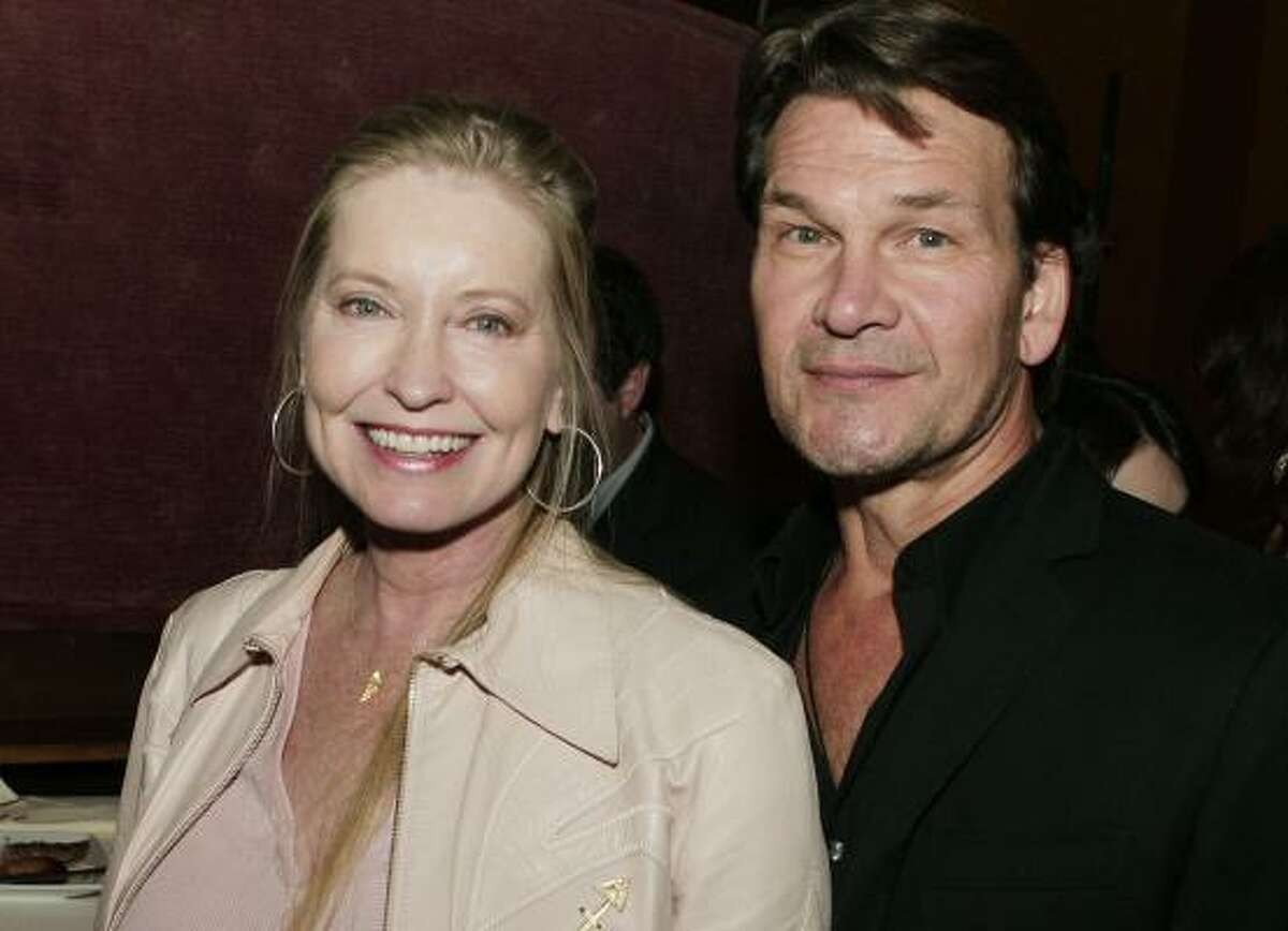 The actor and his wife, Lisa Niemi, arrive at a 2007 film showing. Swayze had been married since 1975 to Niemi, a fellow dancer who took lessons with his mother; they met when he was 19 and she was 15. A licensed pilot, Niemi would fly her husband from Los Angeles to Northern California for treatment at Stanford University Medical Center.