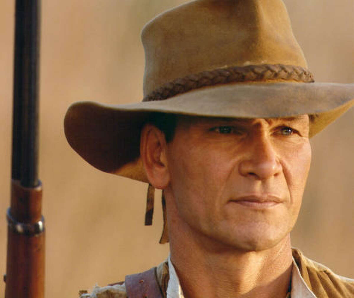 Patrick Swayze (here in a remake of King Solomon's Mines) was declared Sexiest Man Alive by People magazine in 1991.