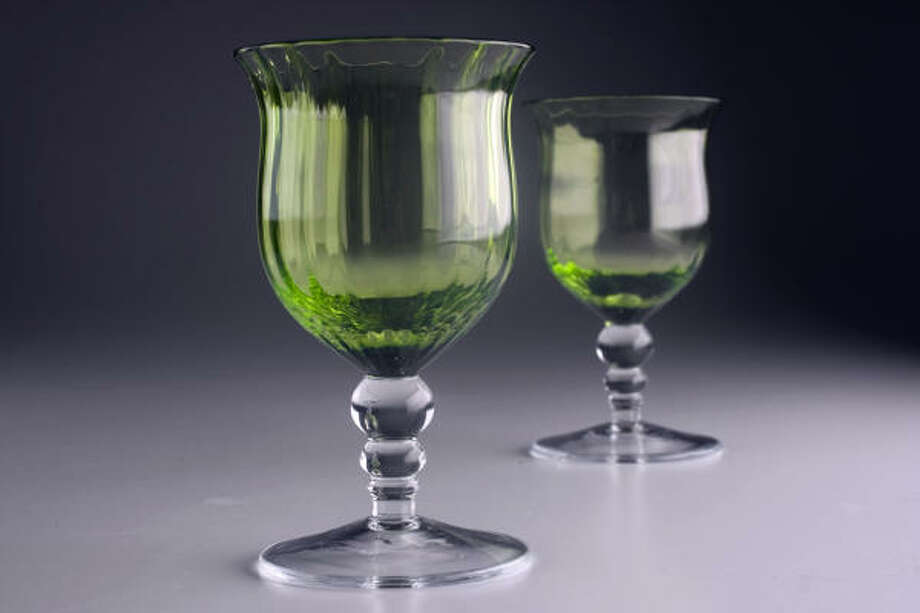 Polish goblets, $16 each, from Antrhopologie Photo: Johnny Hanson, Chronicle