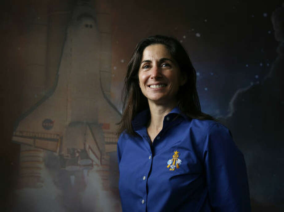 Nicole Passonno Stott will spend four months on the International Space Station. Photo: Karen Warren, Chronicle