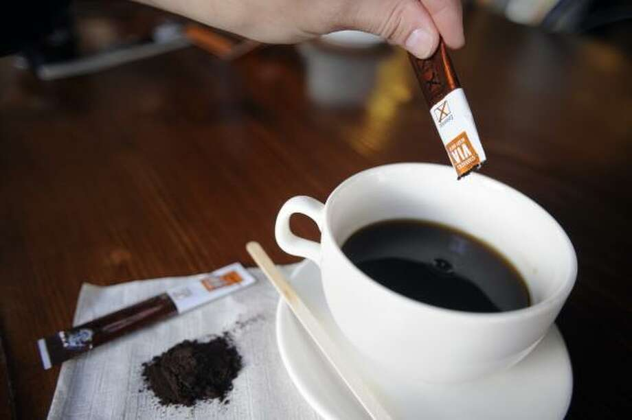 Starbucks is taking a gamble to claim a chunk of the $21 billion worldwide instant coffee market. Photo: RUSSELL A. DANIELS, ASSOCIATED PRESS