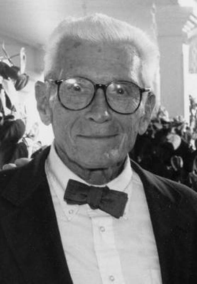 Dr. T. Stewart Hamilton, father of Jeanne Hamilton. Dr. Hamilton passed away in 2002 at the age of 91.  (contributed photo) Photo: Contributed Photo