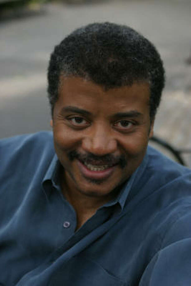 Neil deGrasse Tyson will speak this weekend in Houston.
