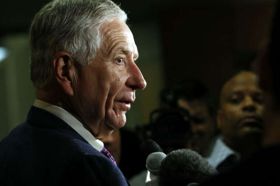 """We had a tentative deal,"" Astros owner Drayton McLane said. ""Nothing lasts forever."" Photo: Johnny Hanson, Chronicle"