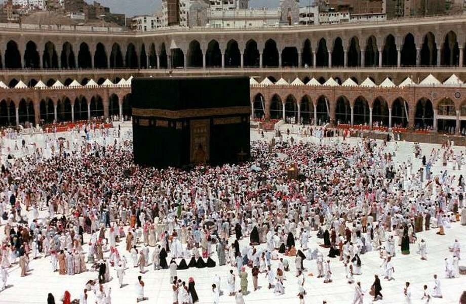 Muslim pilgrims circle the Kaaba in Mecca, Saudi Arabia, the birthplace of the Prophet Muhammad and the holiest site of Islam. A new book sets out to educate non-Muslims about the true Muhammad. Photo: ASSOCIATED PRESS FILE
