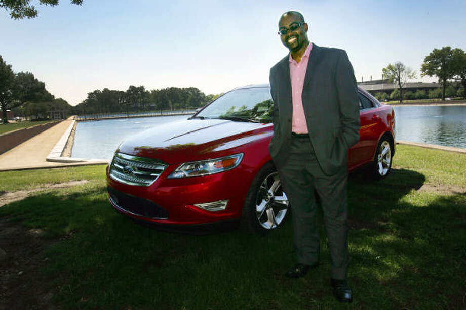 Earl Lucas, who grew up in Dallas, is the exterior designer of the 2010 Ford Taurus. Some will be in showrooms next week. Photo: KATHLEEN GALLIGAN, MCT
