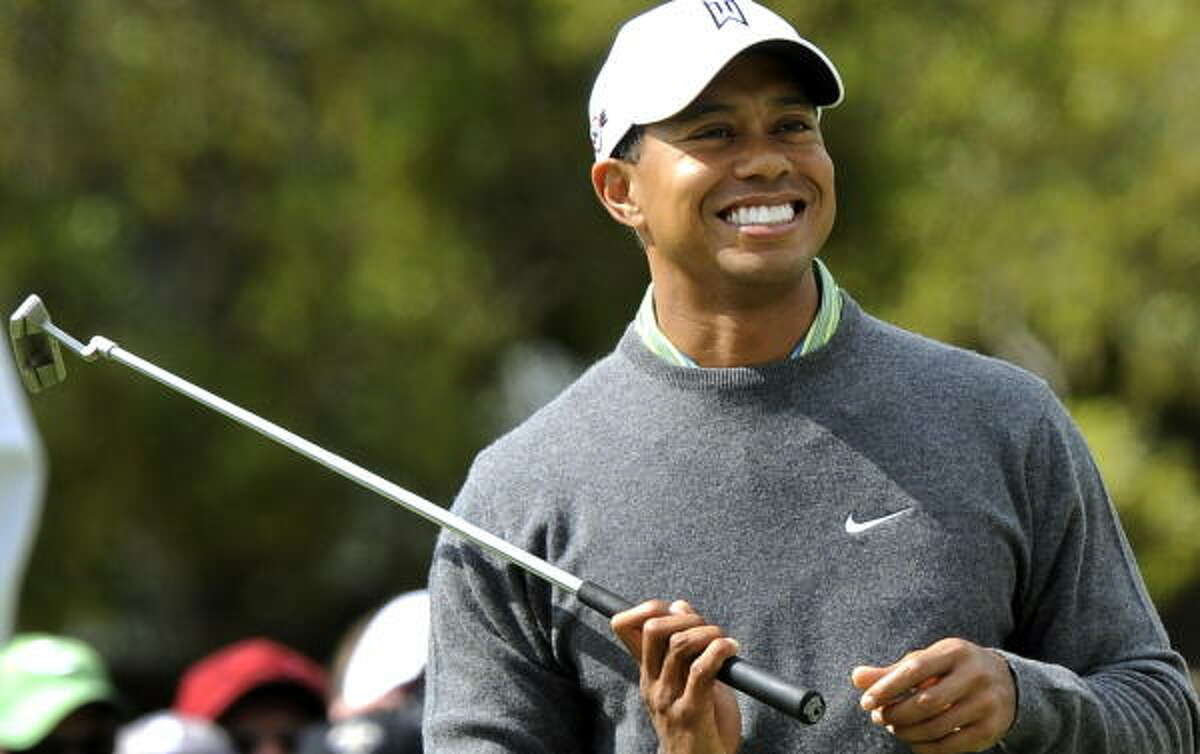 Tiger Woods says some of the excitement that comes with playing the back nine at Augusta has been lost.