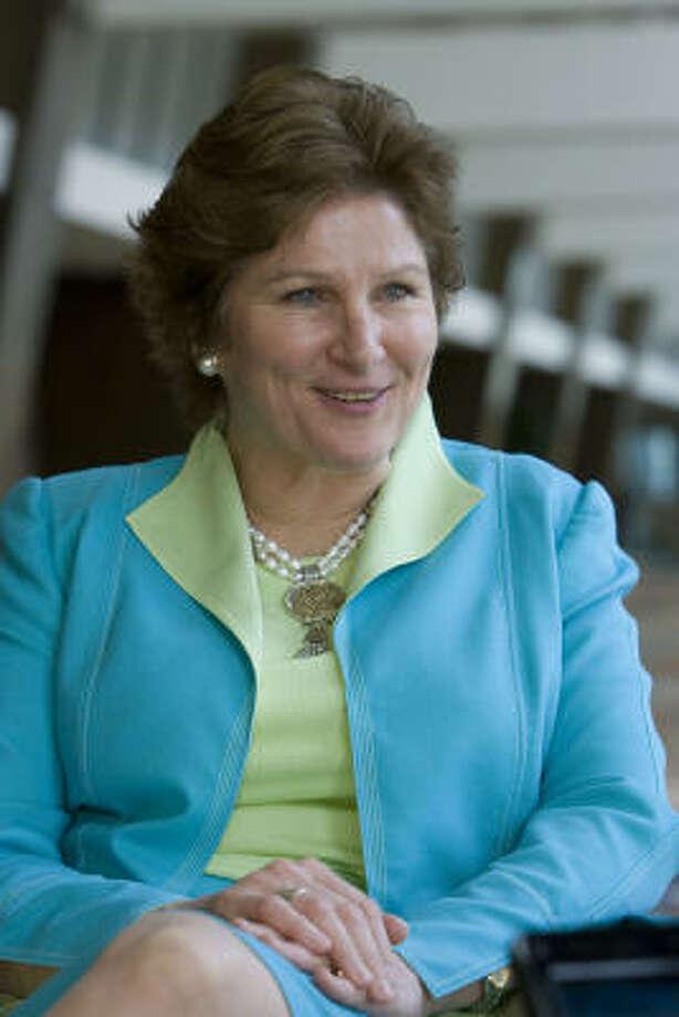 Former Bush aid Karen Hughes is back in Texas, living in Austin. Photo: James Nielsen, Chronicle