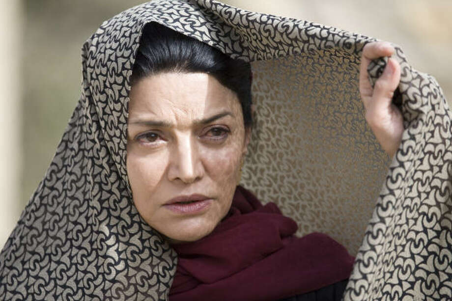 Zahra (Shohreh Aghdashloo) is the angry and unstoppable aunt of the victim. Photo: Mpower Pictures