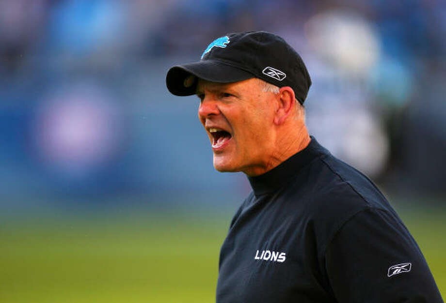 Rod Marinelli is coming off a season as the first coach to have his team finish 0-16. Photo: Streeter Lecka, Getty Images