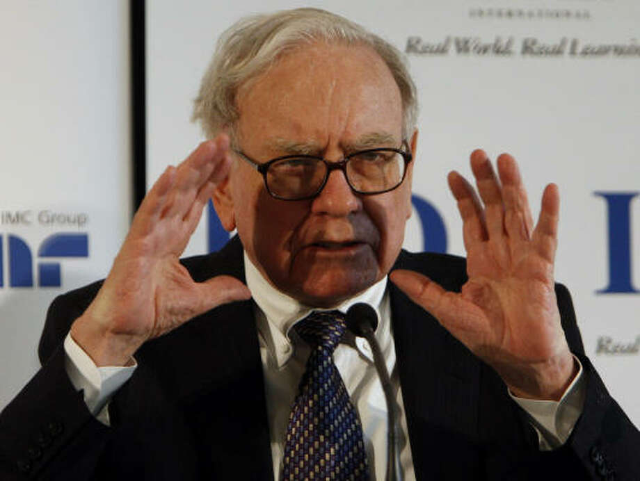 Warren Buffett's Berkshire Hathaway is the largest shareholder in San Francisco-based Wells Fargo, which got $25 billion — 91 percent of the TARP funds invested in institutions headquartered in California. Photo: Daniel Roland, AP