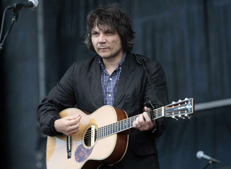 Wilco's Jeff Tweedy, seen here during the Bonnaroo Music Festival in June, has kicked his addiction to painkillers and is receiving critical acclaim for his recent work. Photo: DAVE MARTIN, ASSOCIATED PRESS