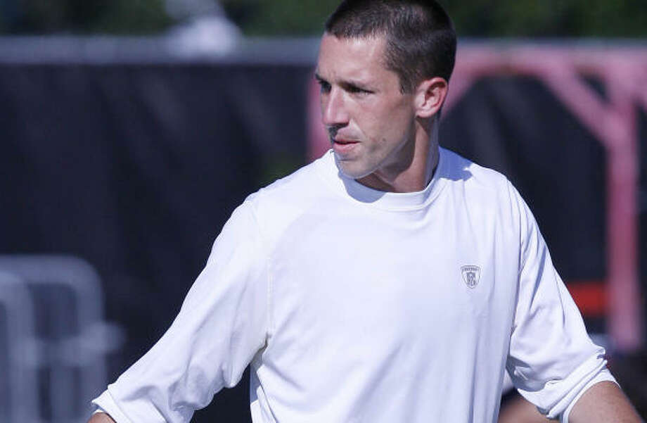 Kyle Shanahan will become the first assistant to be the Texans offensive coordinator for back-to-back seasons under Gary Kubiak. Photo: Mayra Beltran, CHRONICLE