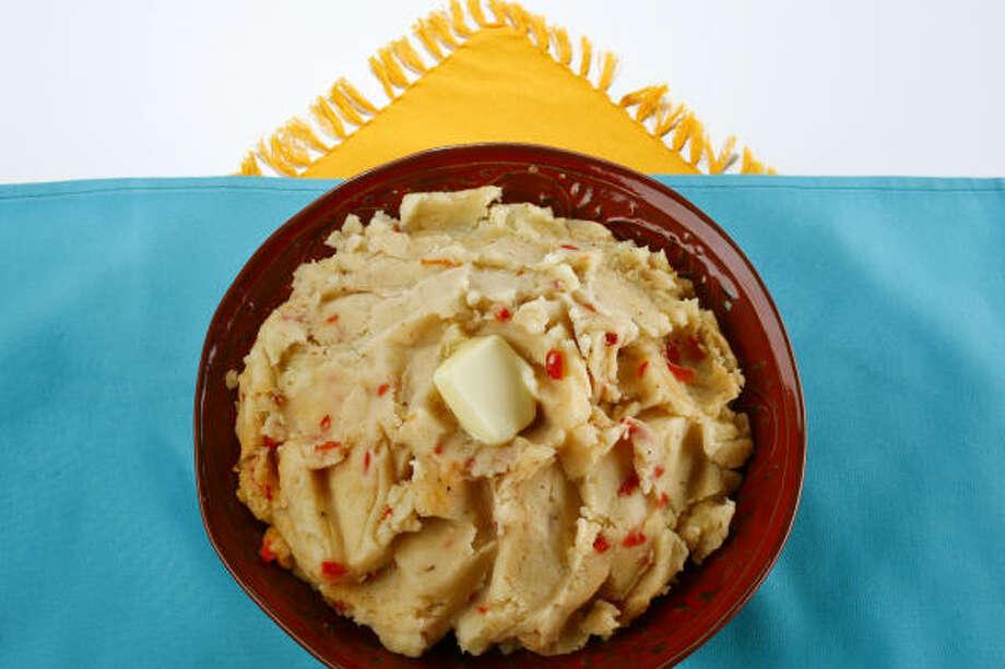 Cajun Mashed Potatoes Photo: MICHAEL PAULSEN :, CHRONICLE