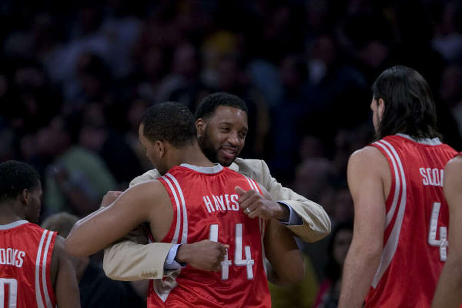 Tracy McGrady had always been his team's centerpiece. Suddenly, he was part of one that had moved on without him. Photo: Nick De La Torre, Houston Chronicle