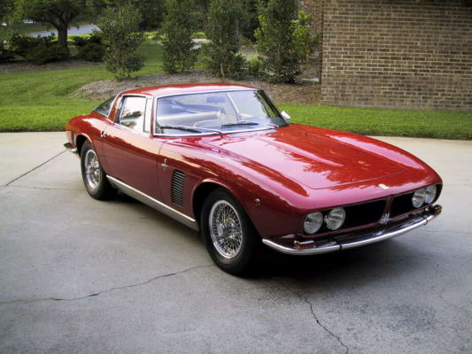 This 1969 model is one of only 412 Iso Grifo cars manufactured from 1965 through 1974.This 1969 model is one of only 412 Iso Grifo cars manufactured from 1965 through 1974.