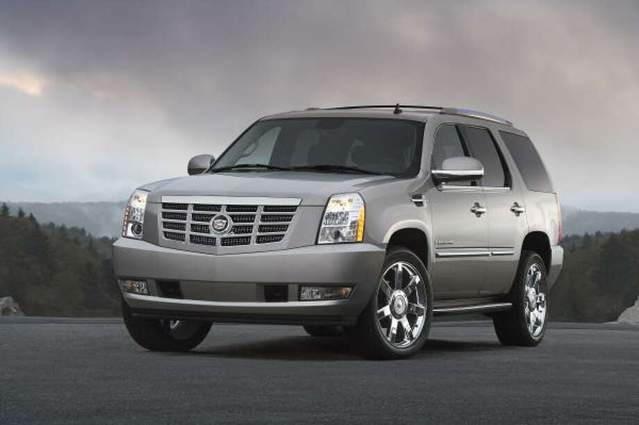 Cadillac's Escalade was the AutoPacific's 2009 Vehicle Satisfaction Awards category winner in the Luxury Sport Utility segment.    Cadillac's Escalade was the AutoPacific's 2009 Vehicle Satisfaction Awards category winner in the Luxury Sport Utility segment. Photo: Wieck