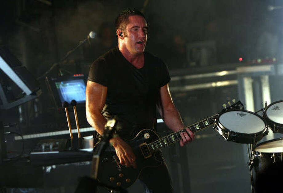 In addition to his trendsetting sounds, Nine Inch Nails' Trent Reznor also has a knack for new ways to sell his music. Photo: Michael Loccisano :, Getty Images