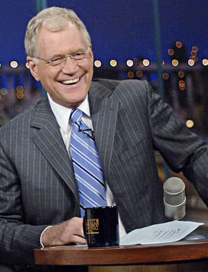 David Letterman lost at least one fan after his nonapology for admitting to sleeping with female employees. Photo: John P. Filo :, Associated Press