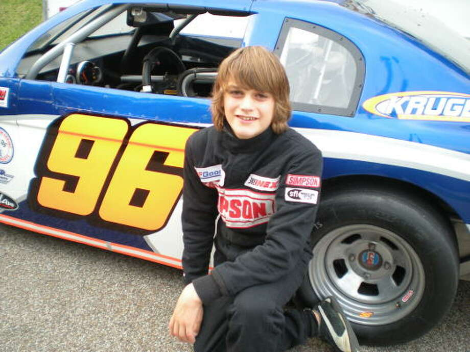 Jake Wright, 13, is preparing for his debut on the Pro Truck Series after success in Allison Legacy and Bandolero racing. Wright hopes to make it a regular move next season. Photo: HANDOUT PHOTO