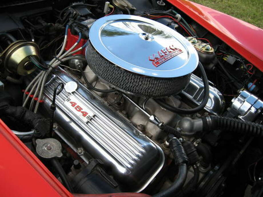 Peter Zovath's '70 Corvette is powered by a performance-enhanced big-block V-8.