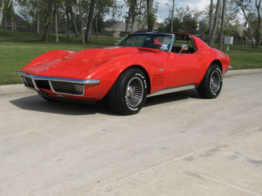 Peter Zovath's 1970 Corvette's exterior was upgraded with a new front-end clip by Eckler's and got a paint job in Monza red with clear coat.