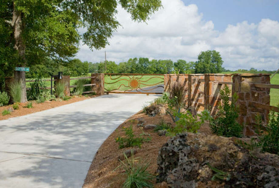 Guyton Garden in Montgomery. Photo: Mark Robinson, Special To The Chronicle