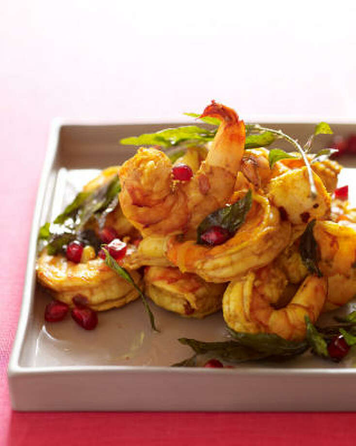Pomegranate Shrimp Photo: SIMON & SCHUSTER